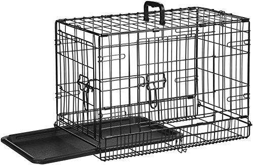 AmazonBasics Folding Metal Dog Crate 4