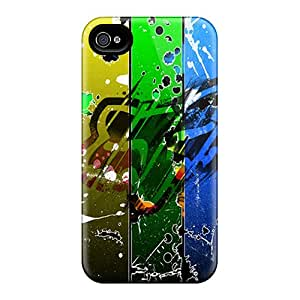 6 Scratch-proof Protection Cases Covers For Iphone/ Hot Fox Racing Abstract Phone Cases