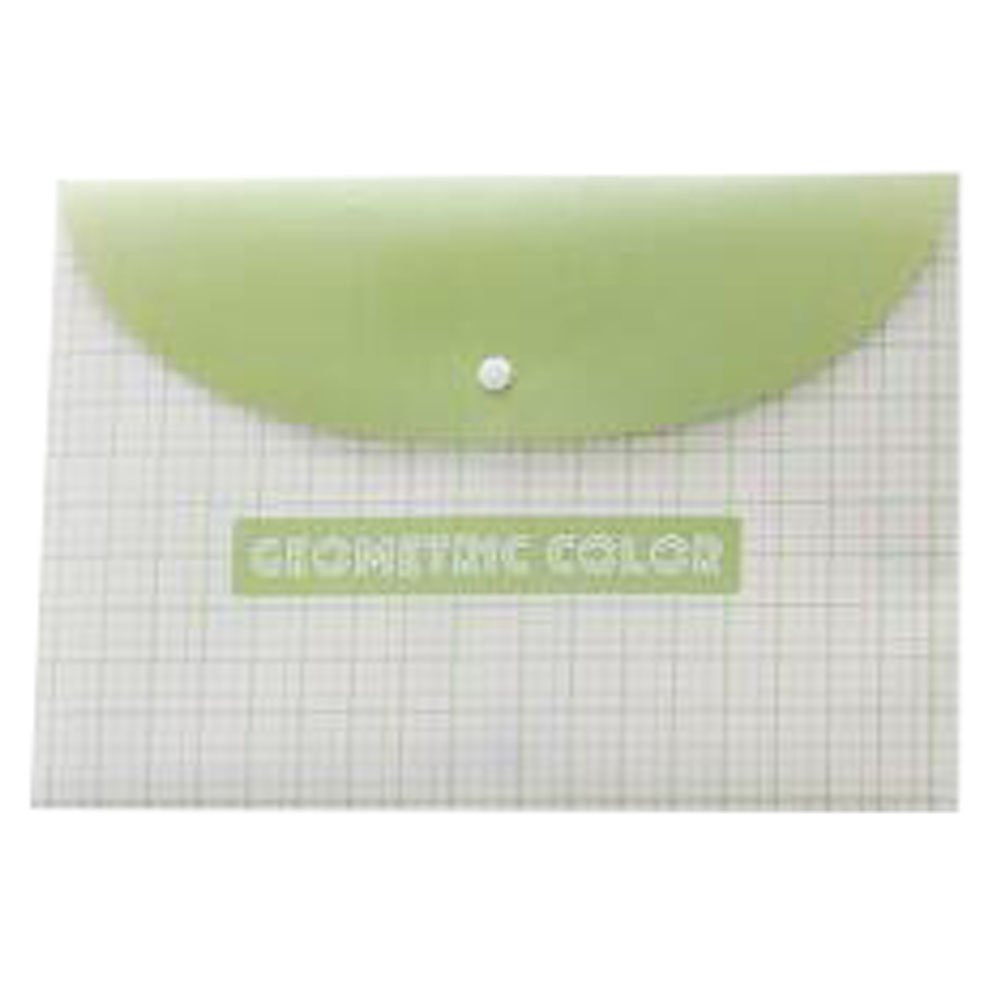 3PCS Cute File Bag Stationery Bag Pouch File Envelope for Office/School Supplies, Check