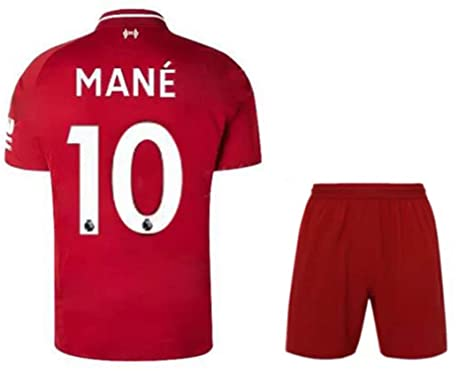 promo code 41838 944e4 Amazon.com : ZZXYSY Mane #10 Liverpool Men's Home Soccer ...