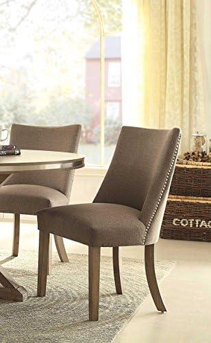 HOMELEGANCE Fabric Upholstered Side Chair