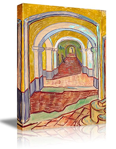 Corridor in The Asylum by Vincent Van Gogh Oil Painting Reproduction