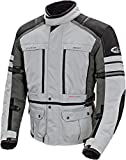 Joe Rocket Ballistic Adventure Jacket (MEDIUM) (SILVER/GUNMETAL)