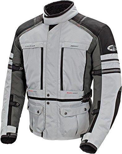 Joe Rocket Ballistic Adventure Jacket (Medium) (Silver/Gunmetal) ()