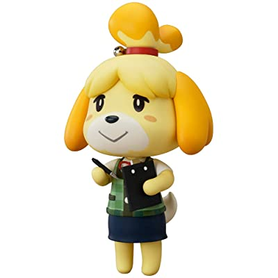 Good Smile Animal Crossing New Leaf: Shizue Isabelle Nendoroid Action Figure, Multicolor: Toys & Games