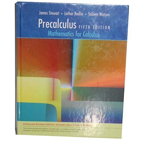 Precalculus: Mathematics for Calculus, Enhanced Review 5th Edition [TEXTBOOK ONLY]