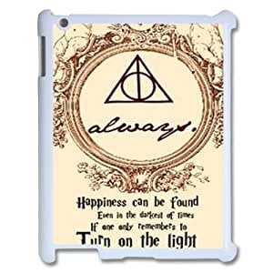 Custom Cover Case for iPad 2,iPad 3,iPad 4 w/ Harry Potter Dealthy Hallows image at Hmh-xase (style 11)