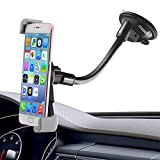 Diagonal Clamp Car Holder,Ipow Large Device Dashboard/Windshield Phone Mount Cradle for iPhone Samsung Galaxy Nexus LG HTC GPS etc