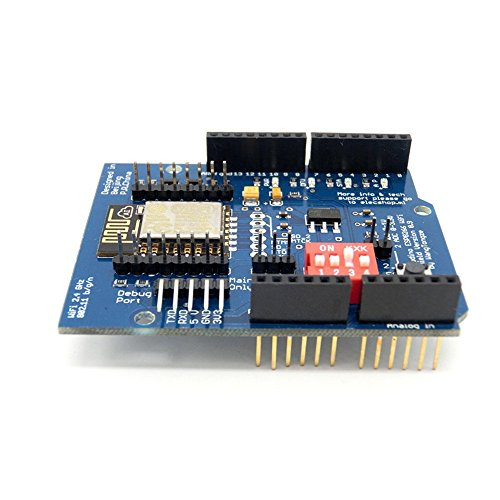 WINGONEER ESP-12E ESP8266 UART WIFI Wireless Shield for Arduino UNO R3