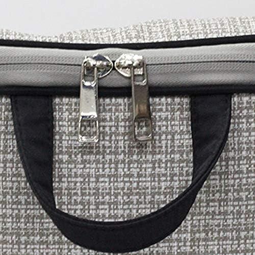 化粧ポーチ ポータブルバッグを仕上げトイレタリーバッグホームストレージコスメティックバッグ出張旅行トイレタリー ウォッシュバッグ (色 : Black, Size : 23x14.5x20.5cm)