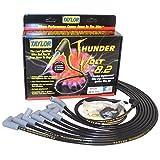 Taylor Cable 86030 Black 8.2mm Custom Race-Fit ThunderVolt Ultra High Performance Spark Plug Wire Set