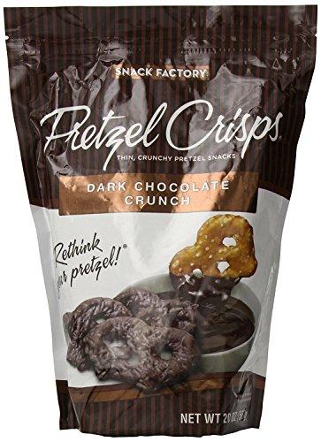Dark Chocolate Crunch Pretzel Crisps - 20 (Pretzel Crisps)