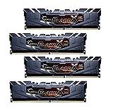 32GB G.Skill Flare X DDR4 3200MHz PC4-25600 for AMD Ryzen CL14 Quad Channel Kit (4x8GB)