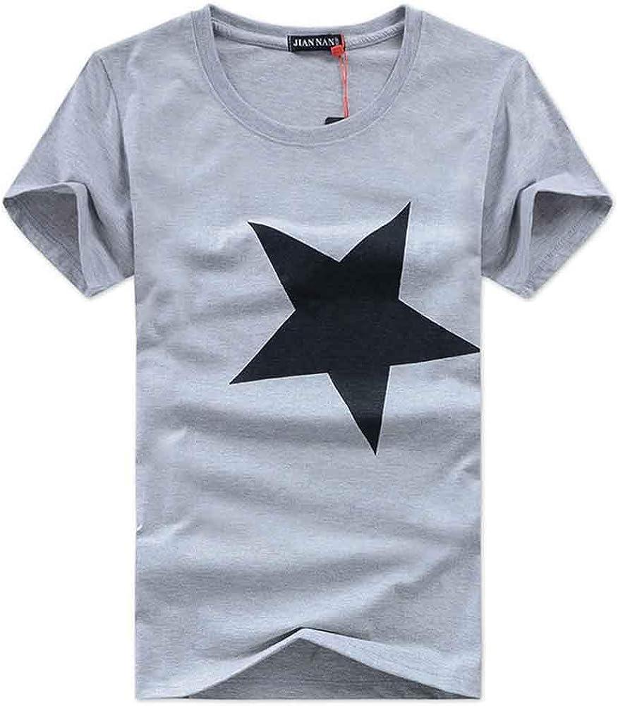Bsjmlxg 100/% Contton Men Printed Fashion T-Shirt