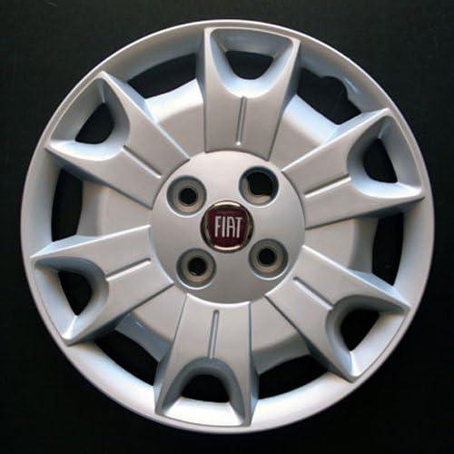 Jeu de 4 Enjoliveurs Neuf pour Fiat Panda 2003 avec Roues Originales en 14 Pouces
