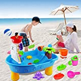 Kids Beach Sea Pirate Ship Toys, Creative Puzzle Toys Pirate Ship Beach Table Pool Table Outdoor Play Large Toy Travel Kids Toy Set