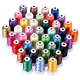 40 Color Polyester Embroidery Machine Thread