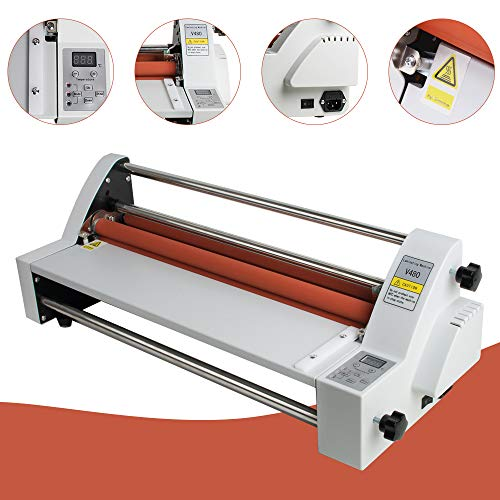 (Laminator Machine vinmax Hot & Cold Roll Laminating Machine 18'' Single & Dual Sided laminator for Home Office Use)