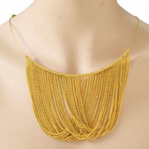 Forum Novelties 67841 Disco Chain Adult Necklace Accessory Size One-Size, As Shown, ST