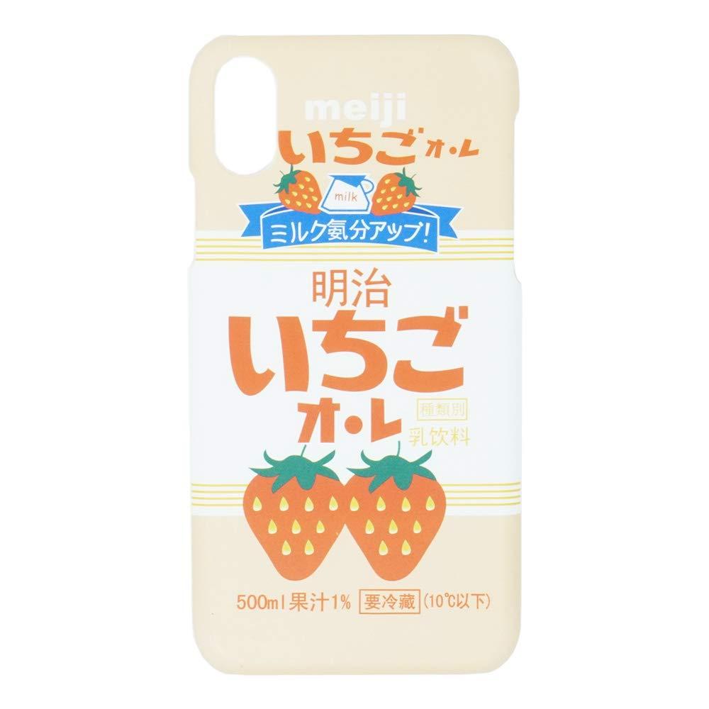 ハードプラスチックスリムフィットスムースソフトTPU - サントリーストロベリーミルク - iPhone X iPhone XSケース超薄型おしゃれ日本アニメ漫画防護耐衝撃性ホットでかわいいファッション和風ギフト   B07KCQ2LF5