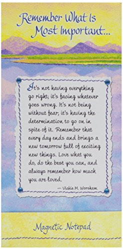 Blue Mountain Arts Magnetic Notepad, Remember What is Mos...