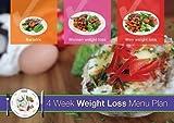 4 Week Weight Loss Menu Plan