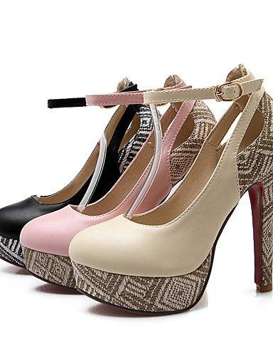 us10 Bottes Confort Gladiator Femmes Chaussures Cuir Pointu 5 Ggx Vachette Eu42 Uk8 Combat Styles 5 Bout Des Cn43 Nouveauté Black Chunky YZWFB