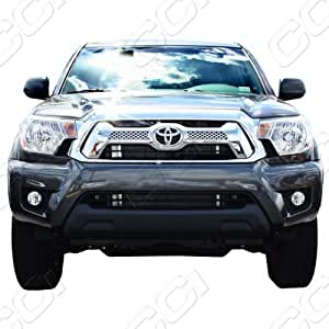 2012-2013 Toyota Tacoma Chrome Grille Grill Insert Trim Molding