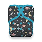 Thirsties Reusable Cloth Diaper, One Size Pocket Diaper, Snap Closure, Stargazer