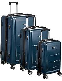 Hardshell Spinner Luggage, Navy Blue