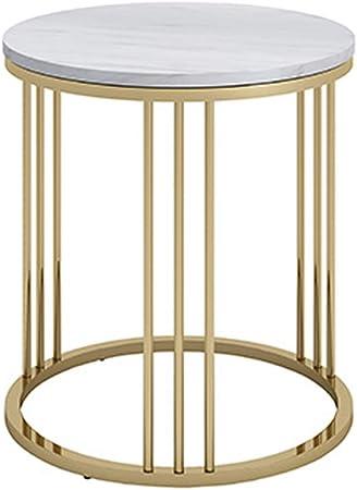 de Table Table YNN d'appoint en Fer Salon Basse en marbre kwPX8n0O