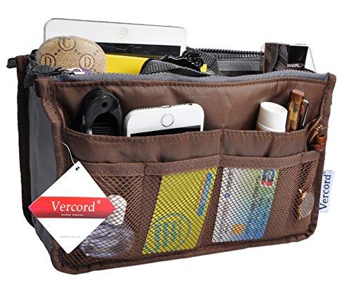Travel Organizer Bag Multi-pocket Insert Handbag Purse Tidy Bags For Multipurpose Coffee M
