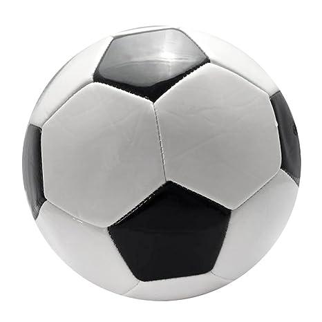 Toygogo Balón De Fútbol De Alto Rendimiento - Negro Blanco ...
