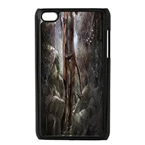 Ipod Touch 4 Phone Case Tomb Raider Lara Croft P78K789638