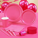 Creative Converting Candy Pink - Hot Pink - Standard Party Pack by Creative Converting
