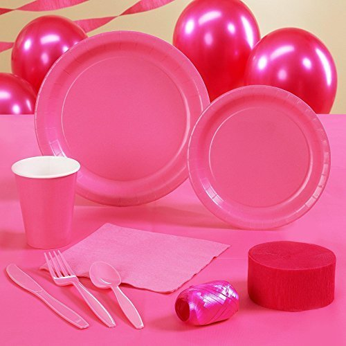 Creative Converting Candy Pink - Hot Pink - Standard Party Pack by Creative Converting by Creative Converting