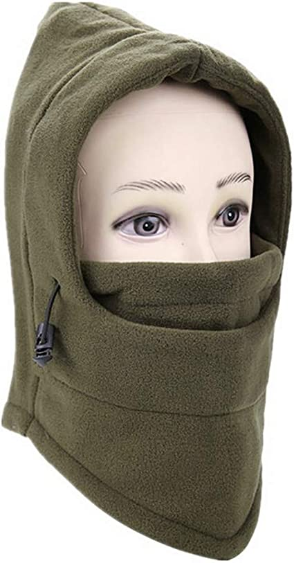 Brown Neck Warmer Winter Cold Weather Face Mask Thermal Snowboarding ski wear