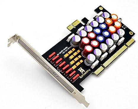 PC Hi-Fi Filtro de tarjeta PCI/PCI-E tarjeta de sonido Audio ...