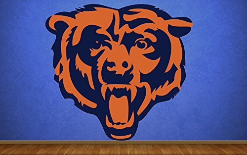 Chicago Bears sticker, Chicago Bears decal, Chicago Bears decal, Chicago Bears sticker, Chicago Bears home decor, Chicago Bears bumper sticker, Bears NFL sticker, Bears bumper decal vmb20 ()