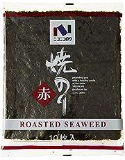 Nico Nico Foods Dried Seaweed (AKA) (Nori) 10P, 27g