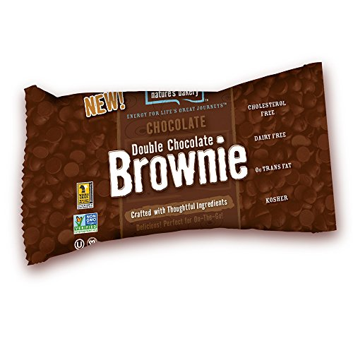 Nature's Bakery Double Chocolate, Brownie, 2 Oz, 12 Count (Pack of 7)