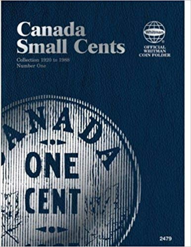 [079482479X] [9780794824792] Canada Small Cents Collection 1920 to 1988 Number One (Official Whitman Coin Folder) – Hardcover