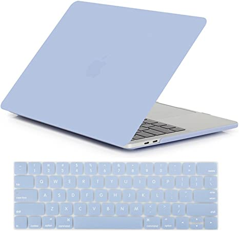 Rubberized Hard Case Skin fr Macbook Pro 13 15 with//out Touch Bar 2016-2017-2018