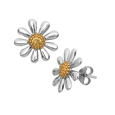 shop raspberry white for gifts enamel daisy her earrings img flower boho spots wedding