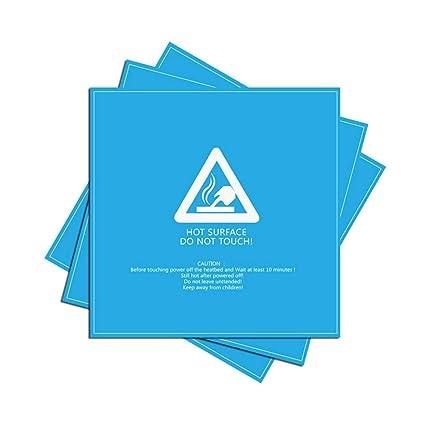 Etiqueta de la plataforma de la impresora 3D 214x214 papel con ...