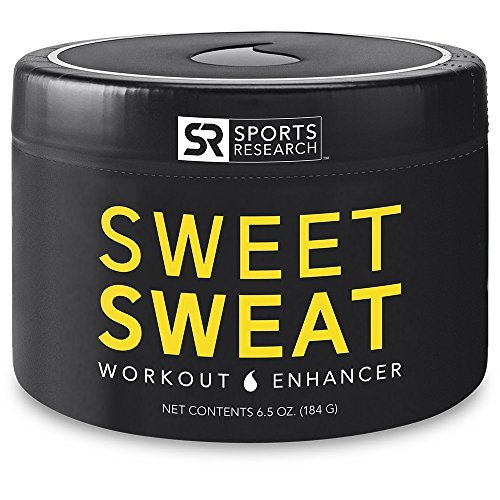 Sweet Sweat Jar - Sports Research Sweet Sweat Jar, 6.5-Ounce by Sports Research