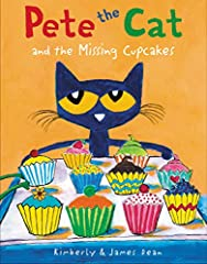 From the bestselling Pete the Cat series, help Pete and his friends find the missing cupcakes!              Pete the Cat and his friends are busy as can be baking cupcakes for a party, and Pete can't wait to perform with his g...