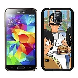 Bob's Burgers Manga Anime Comic Samsung Galaxy S5 SV I9600 Case Cover #127 Black