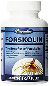 100% Pure Forskolin : Powerful Fat Burner Supplement For Men And Women To Help Lose Belly Fat Fast Giving You A Flat Stomach for Summer: Strongest Supplements For Weight Loss and Natural Metabolism Booster - 250 Mg Coleus Forskohlii Root Standardized to 20% or 50mg Forskolin : Also Reduces High Blood Pressure, Reduces Blood Clots, Helps with Insomnia : 60 Veggie Capsules Made in USA. Money Back Guarantee