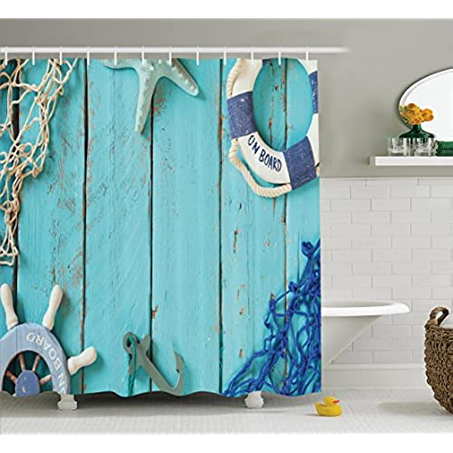 Nautical theme bathroom